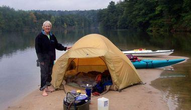 Tent Kayak